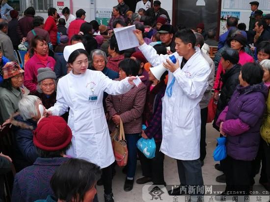 2018年柳州市红会医院继续为白内障患者送光明
