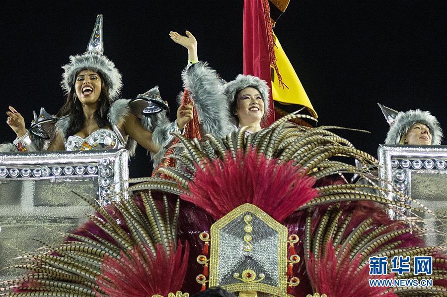 (新华全媒头条・图文互动)(6)当桑巴爱上中国红 巴西狂欢节致敬中国年
