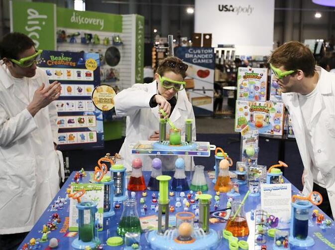 2018北美国际玩具展在纽约举行