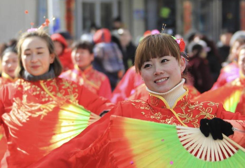 河北崇礼:秧歌闹新春