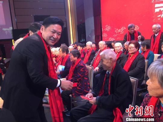 广东惠州举办孝文化活动 60名老人享受团拜礼遇