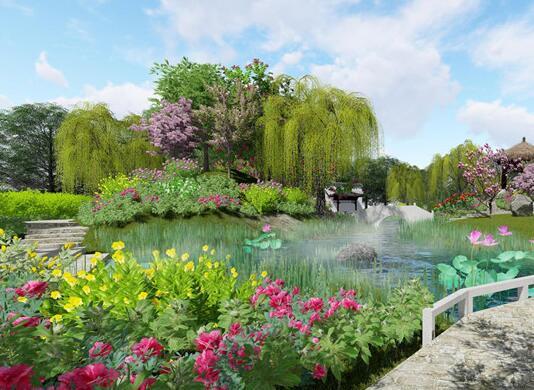 第十二届园博会重庆园与济南园:如同置身画中
