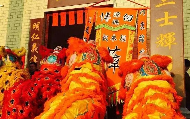 [新春走基层]桂平市社坡镇:群众舞狮贺新春(组图)