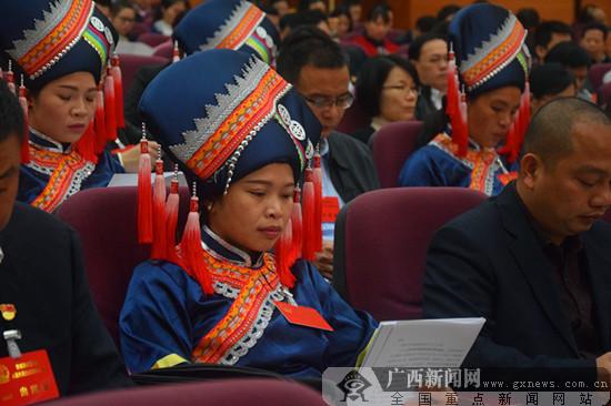 防城港市六届人民代表大会四次会议开幕
