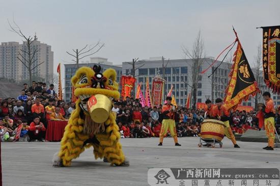 贺州市平桂区2018年首届狮王争霸赛隆重举行