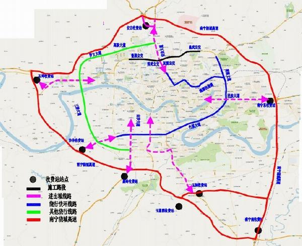 北京pk10网上投注平台:南宁友爱立交桥近期将围挡施工_交警发布绕行提示