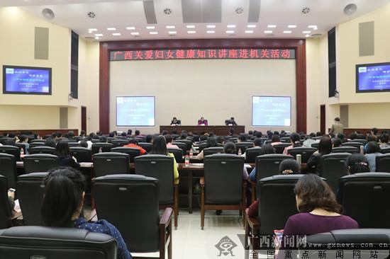 区直机关妇工委举办关爱妇女健康知识讲座