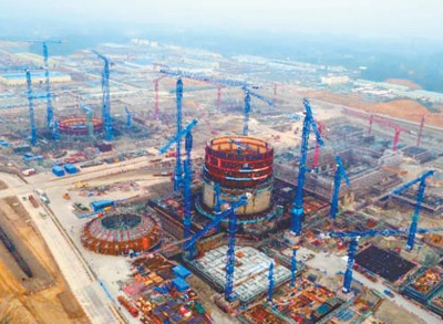 幸运飞艇早上几点开奖:中广核防城港项目加紧施工_我国核电技术强势逆袭