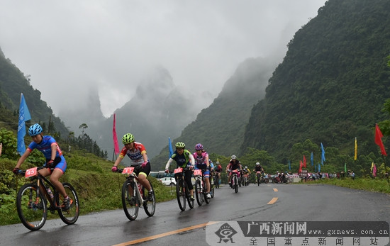 中国山地自行车联赛上林站将于3月24日开赛