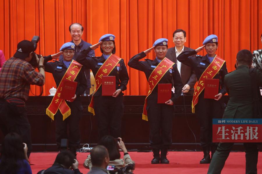 广西表彰全国三八红旗手(集体)和广西三八红旗手