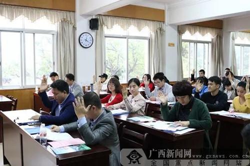 广西区直职业院校团委布告联席会黑狮娱乐建立