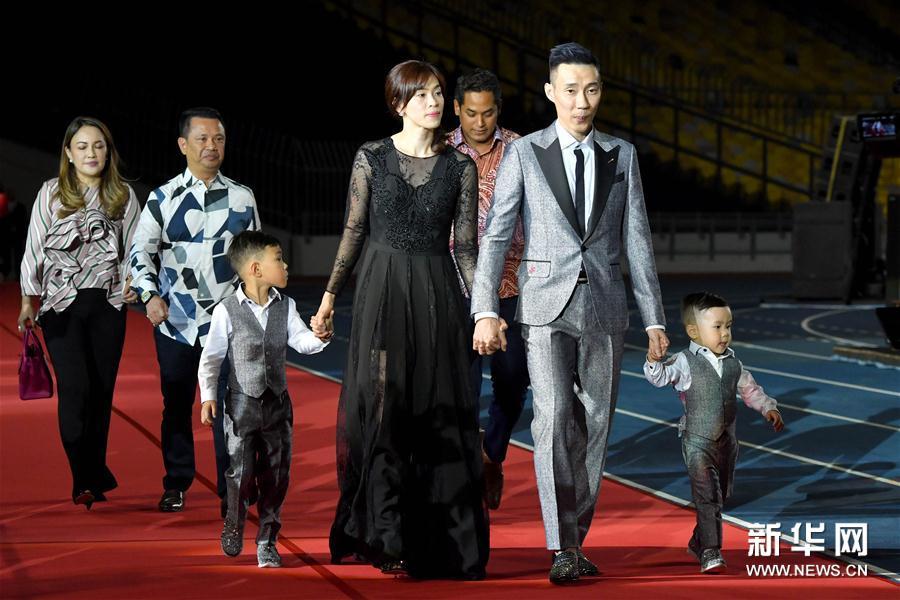 (体育)(1)李宗伟传记电影在马来西亚首映