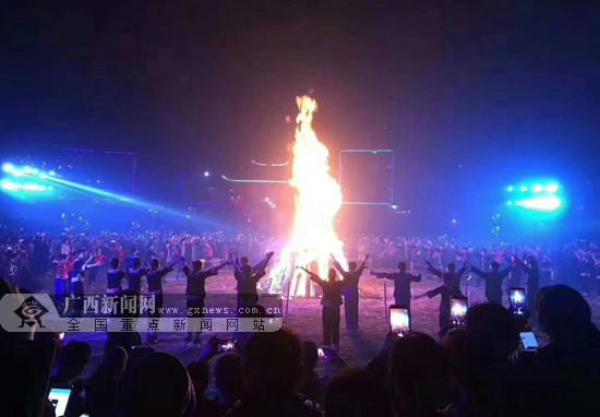 2018年天峨县红水河壮族蚂拐文化旅游节举行(图)