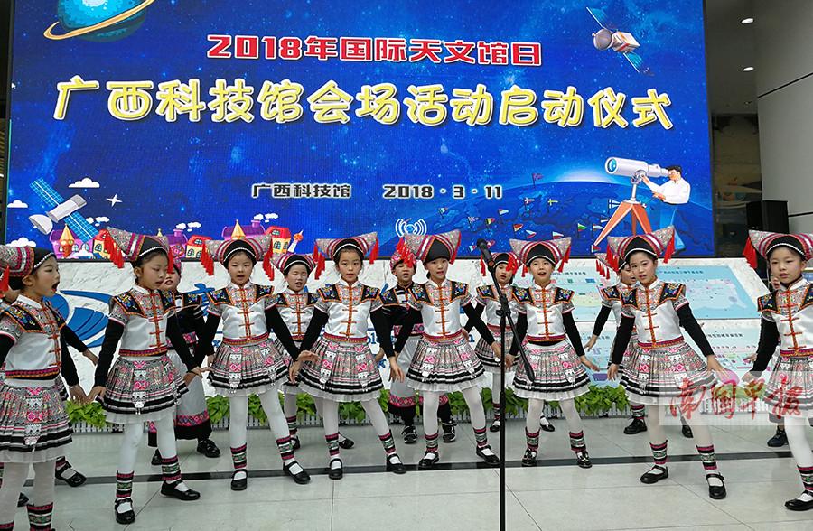 """广西科技馆将建天文馆 孩子们窥探""""天机""""更直接"""