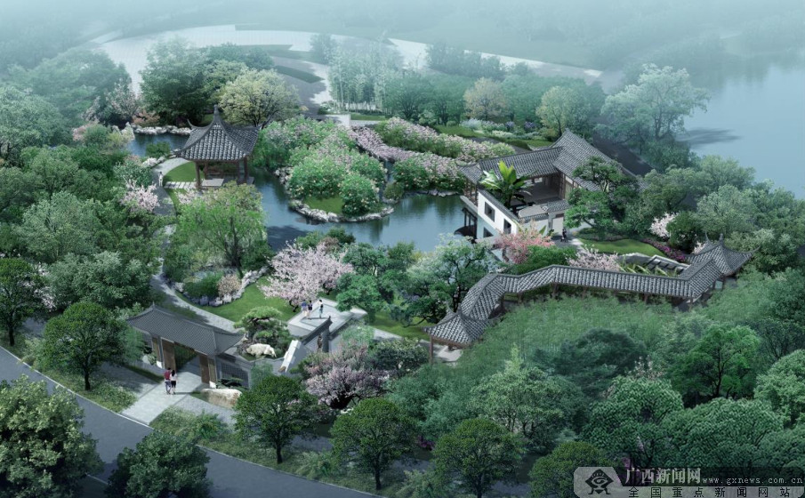 第十二届园博会展园提前看——长沙园与杭州园