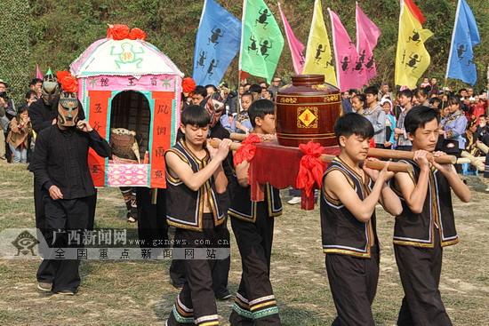 2018年天峨县壮族蚂拐节举行 活动内容精彩纷呈