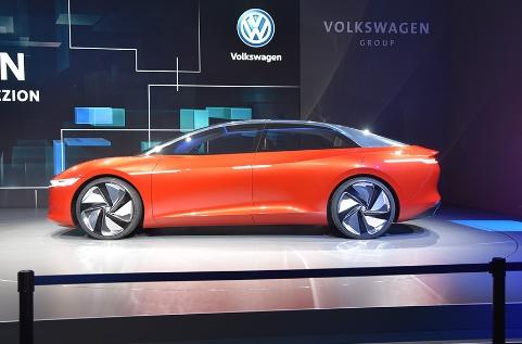 亮点自动驾驶 大众I.D.VIzzion概念车发布