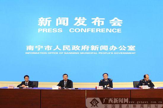 南宁2017年外贸进出口首破600亿元 同比增长48.8%