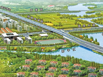 南宁:高速改快速 可走双向8车道快速路