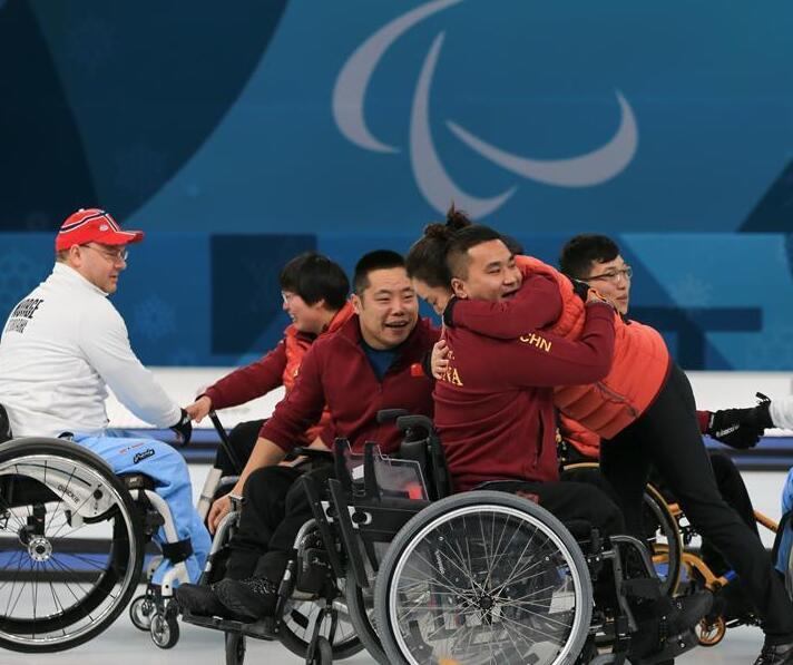 轮椅冰壶――中国代表团实现冬残奥会金牌零的突破
