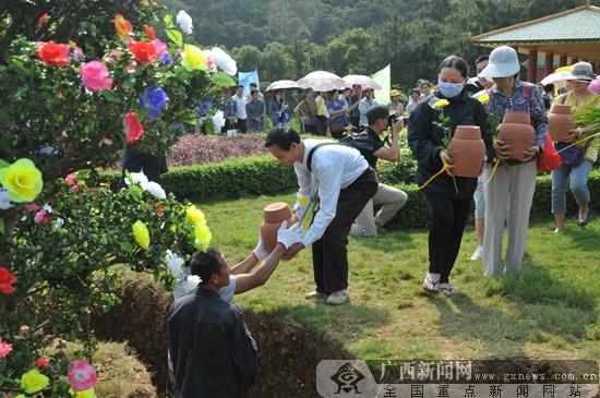 广西将在清明节前开展公益花坛葬活动 即日起报名