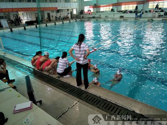 2018年全国青少年水球冠军赛落幕 广西女将夺得冠军