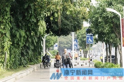 """""""中国绿城""""升级版 南宁推进城市园林绿化城建项目"""
