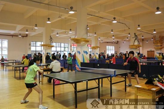 2018年柳州市小学生乒乓球比赛成功举办