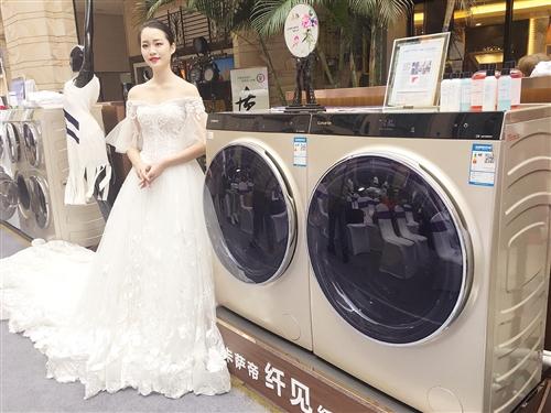 北京pk10开奖官网:卡萨帝挑战南宁市民百件珍贵衣物洗涤考验
