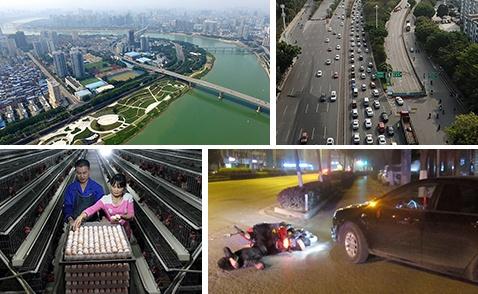 焦点:百里邕江华丽变身 千年河道展新颜