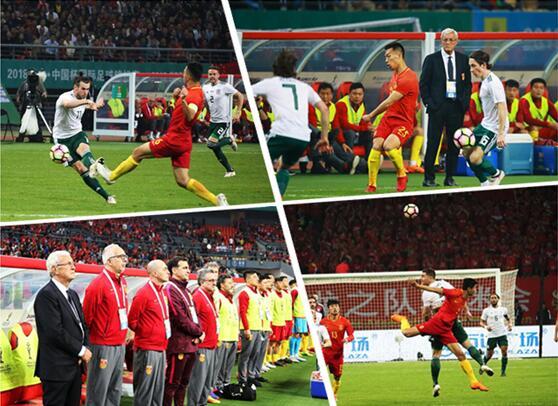 """中国杯首战中国队0-6威尔士 贝尔上演""""帽子戏法"""""""