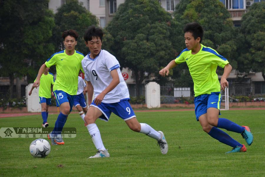 """2018""""中国杯""""参赛球队派员与南宁市足球小将交流"""