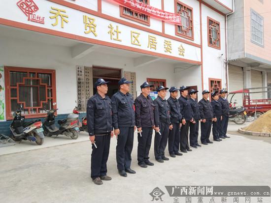 群众安全感全区第一 2017上林县公安局工作侧记