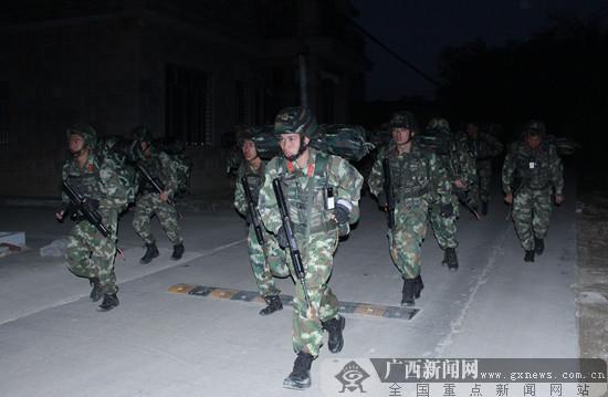 """武警广西总队""""魔鬼周""""极限训练(玉林片区)开练"""
