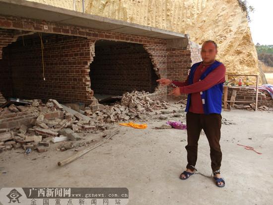 """陆川警方破""""2.16""""妨害公务案和故意毁坏财物案"""