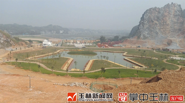 水月岩景区框架逐步形成 将建设拓展区、攀岩服务中心
