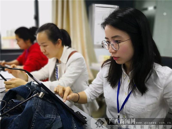 广西职业院校技能大赛中职组在广西物资学院举行