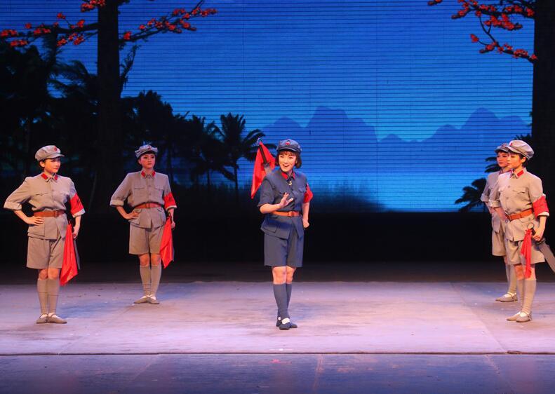 广西戏剧院上演京剧《红色经典》