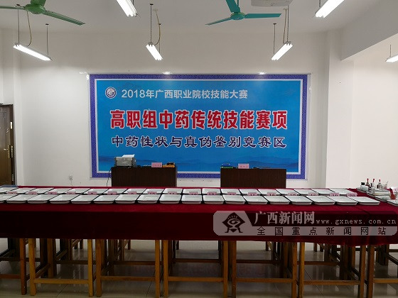 广西职业院校技能大赛高职组中药传统技能决出桂冠