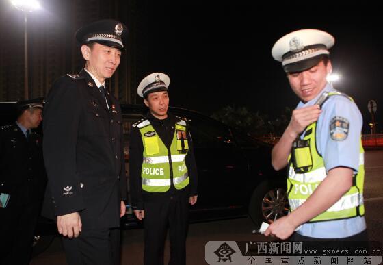 防城港警方开展整治显成效