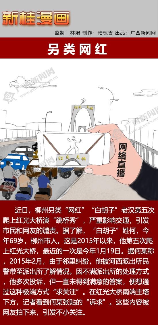"""【新桂漫画】另类""""网红"""""""