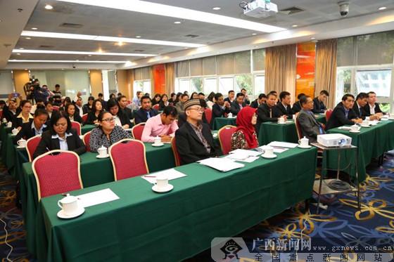 越老柬菲印尼41名学员汇聚邕城研修电子商务