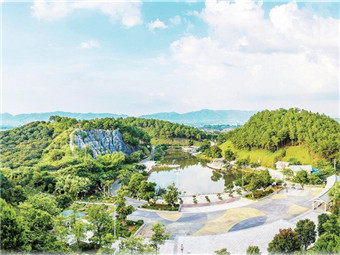 龚州公园:彰显生态园林都会的北国风情