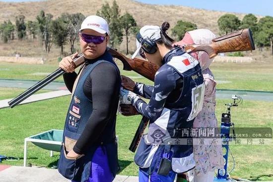 广西陈宇曦获2018射击世锦赛资格 有望参加亚运会