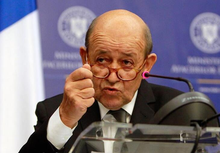 法国外长说支持罗马尼亚加入申根区