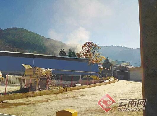金沙线上娱乐网站:大理一厂区被投诉粉尘噪音污染_环保部门介入