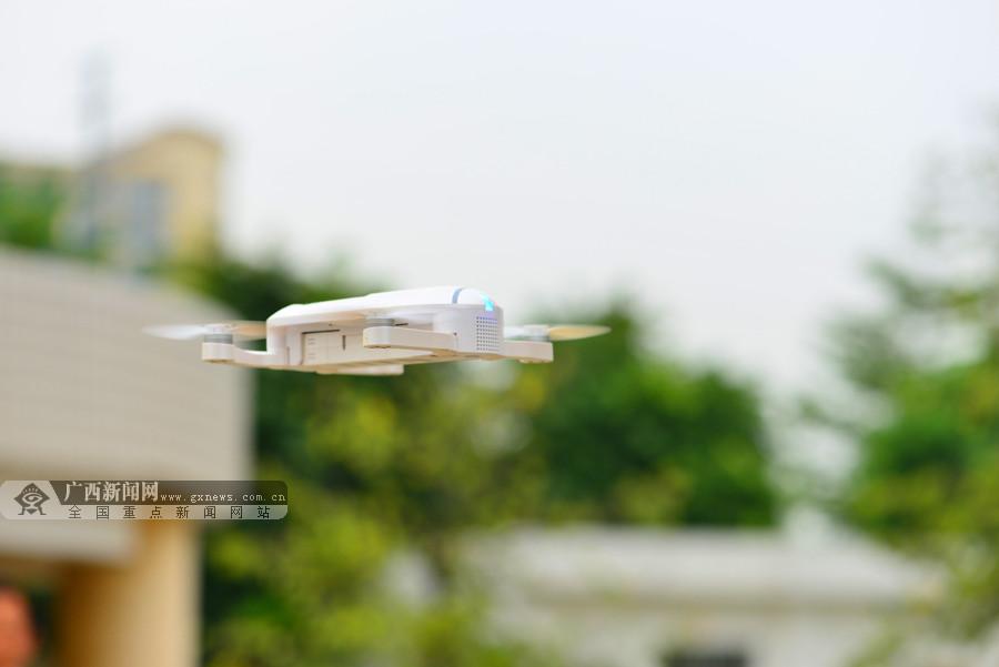高清:直升机无人机齐出动 南宁开展多警种空地协同实战演练