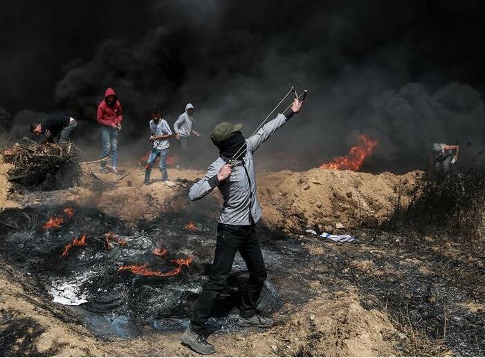 以色列与加沙地带交界处爆发冲突