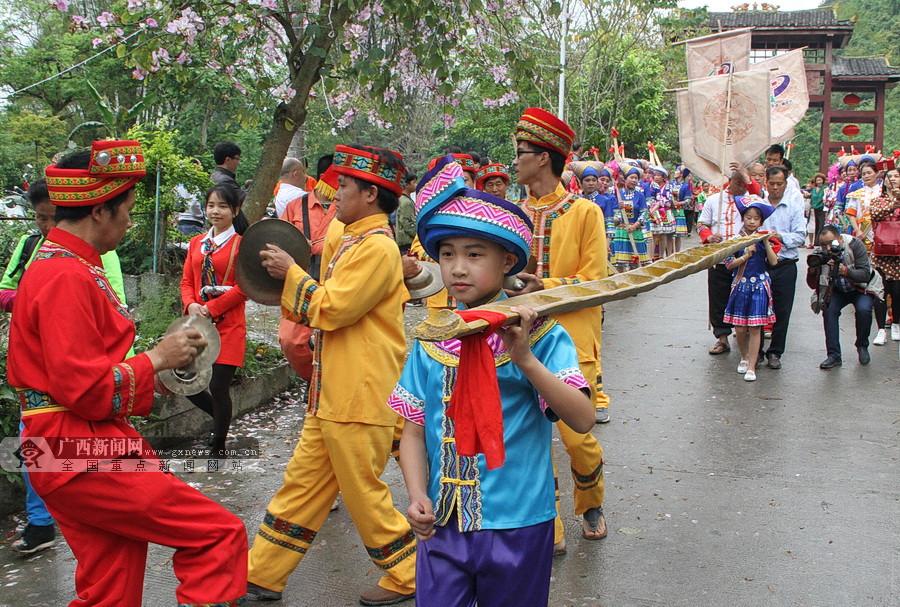 高清组图:2018广西・下洛扁担文化旅游节开幕