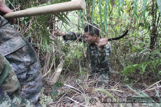 龙邦边防反省站告急驰援 乐成毁灭一同山林火警